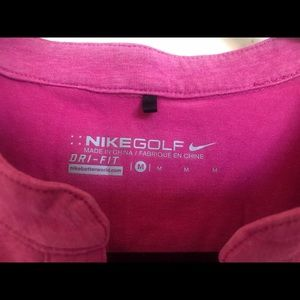 Nike Dri-Fit pink long sleeve shirt Size M